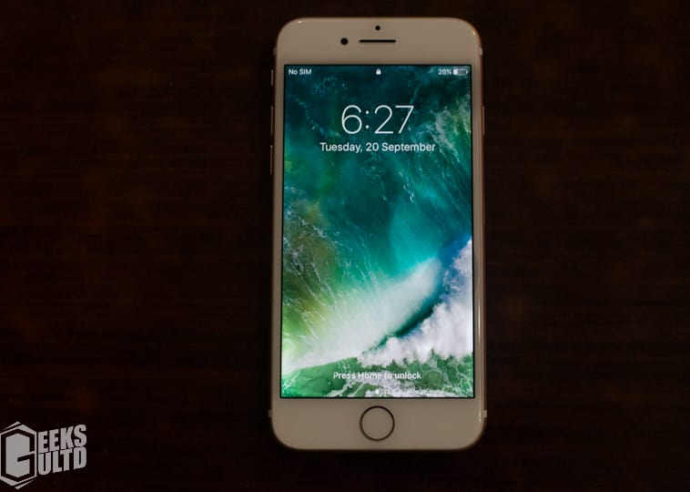 Apple iPhone 7 Hands-on: Display