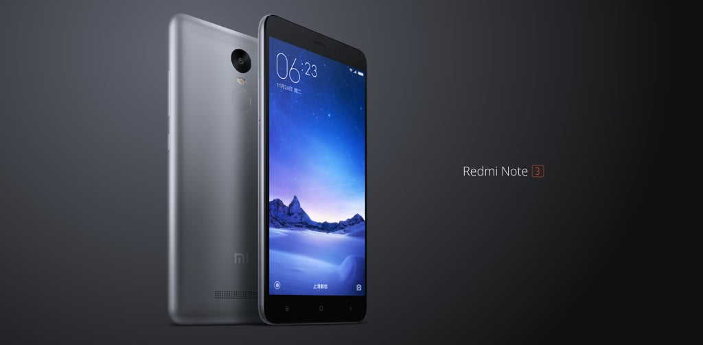 You Can Now Grab the Xiaomi Redmi Note 3 For Only $189