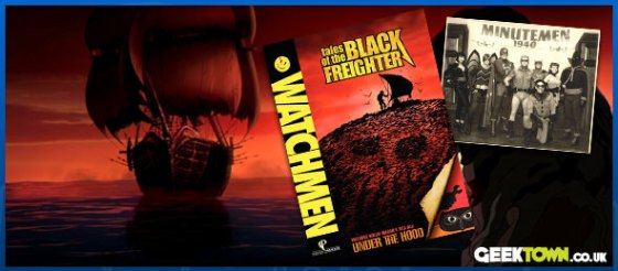 Watchmen: Tales of the Black Freighter DVD
