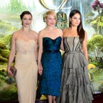 Rachel Weisz, Michelle Williams, & Mila Kunis at the Oz London Premiere