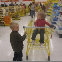 Project 365-252: Braving the Supermarket