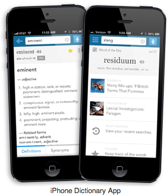 Download Dictionary.com Dictionary & Thesaurus for Apple iOS 7