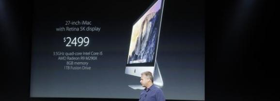 Apple presentó iPad Air 2, iPad Mini 3, iMac Retina y Mac Mini
