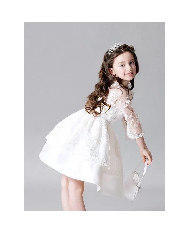 Large Of White Flower Girl Dresses