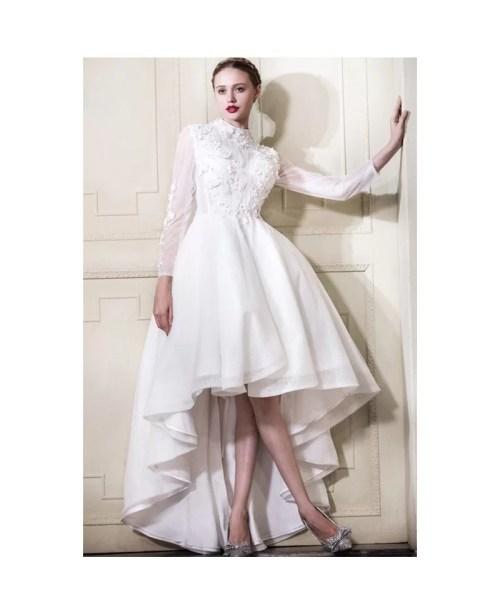 Medium Of High Low Wedding Dress