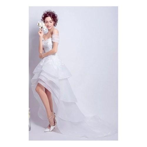 Medium Crop Of Off The Shoulder Wedding Dress