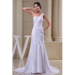 Small Crop Of Chiffon Wedding Dress