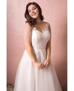 Small Of Plus Size Beach Wedding Dresses