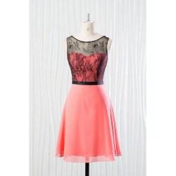 Small Crop Of Coral Bridesmaid Dresses