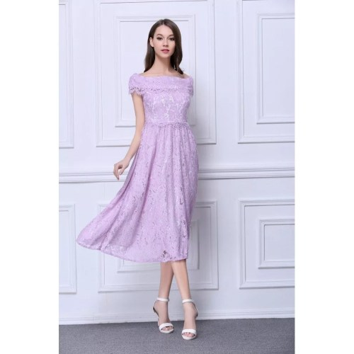 Medium Crop Of Tea Length Dress