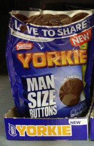 Man Size Buttons Yorkie