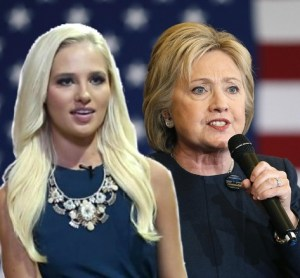 Tomi Lahren and Hillary Clinton