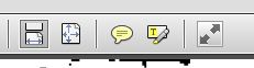 Adobe Comment Bubble Icon