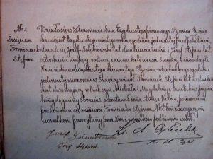 Kleczanów parish records - akt zgonu - F Stępień 1936