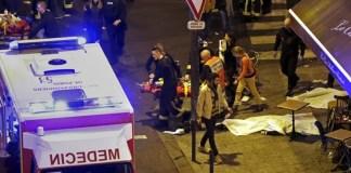 Atentado en París deja muchas personas fallecidas