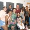 Group shot in studio