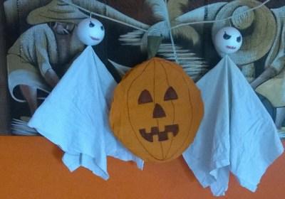 Decorazioni Halloween: la zucca da appendere   Genitorialmente