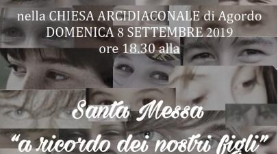 """Santa Messa """" a ricordo dei nostri figli"""""""