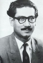 Sheikh Mujib in the Fifties