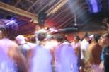Inside the bar..