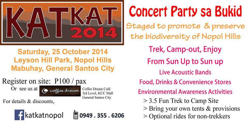 Katkat Nopol: The Big Camp-out in GenSan's Nopol Hills