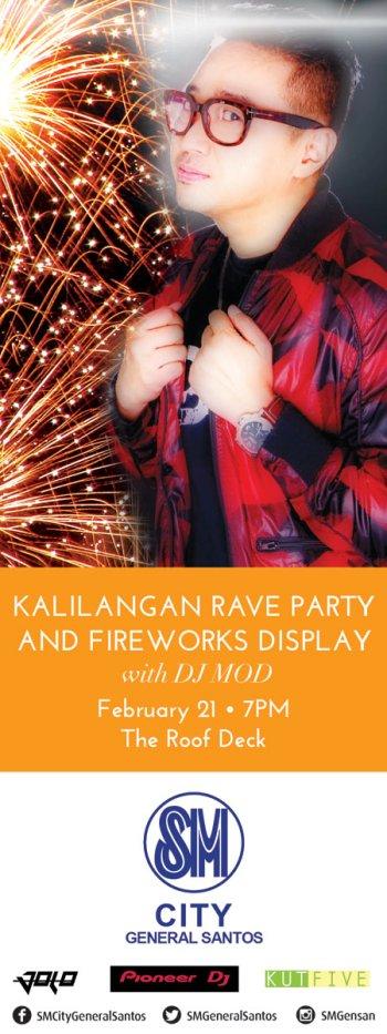 Kalilangan, Rave Party, DJ MOD