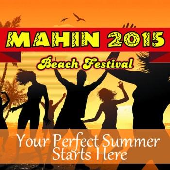 Mahin Beach Festival Logo