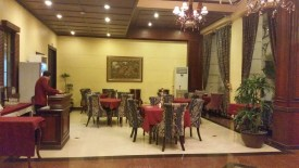 The Lobby Cafe of Hotel San Marco