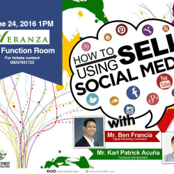 """Join this Seminar and learn """"How to Sell Using Social Media"""""""