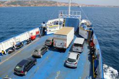 In traghetto, stiamo per sbarcare