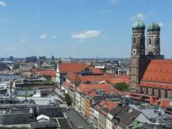 La città dall'alto