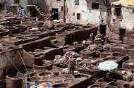 Lavorare, le conce delle pelli, Tibet 1999