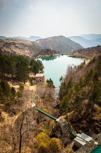 La valle Sturla e il Lago di Giacopiane