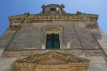 particolare barocco chiesa san giacomo ragusa