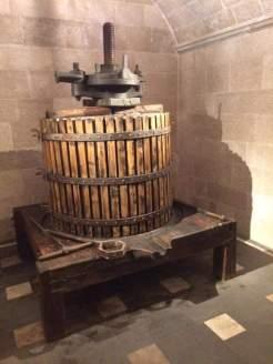 Cantina Mastroberardino: antico torchio