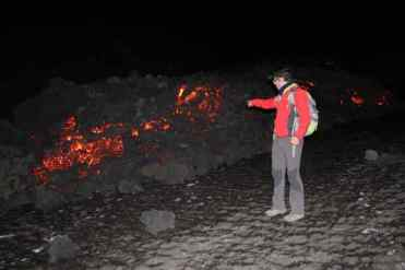 in vacanza sul vulcano etna