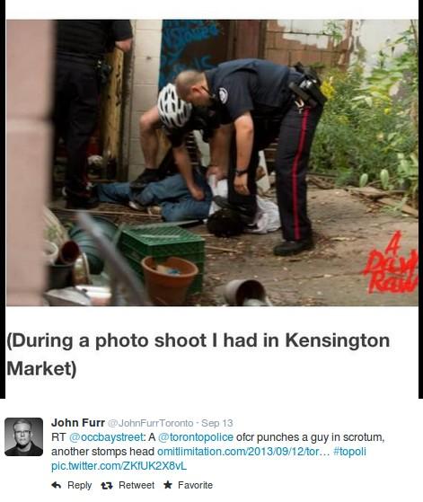 occupybaystreet-john-furr-kensington-toronto-police