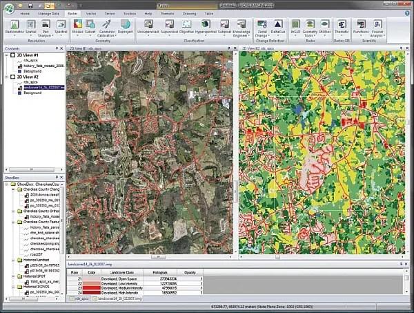 Klasifikace snímků v ERDAS IMAGINE 2011