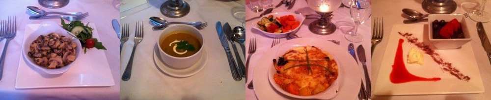 Dinner at the Atlantic View Hotel