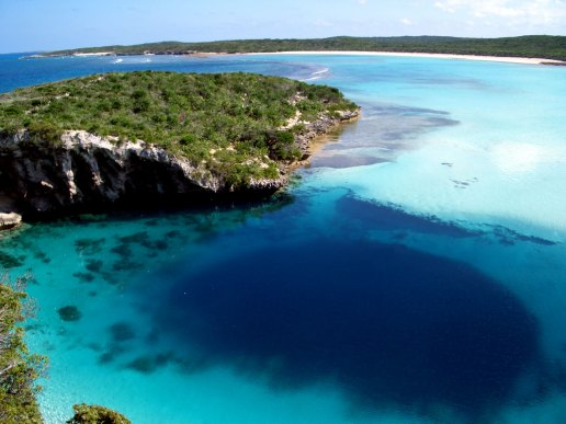 Dean's Blue Hole-GeologyPage
