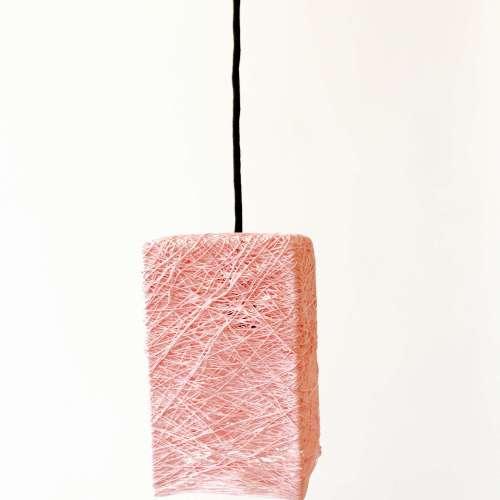 Prism lámpara de techo rosa