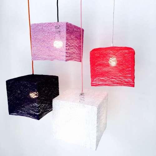 Lámpara de techo diseño único CUBE