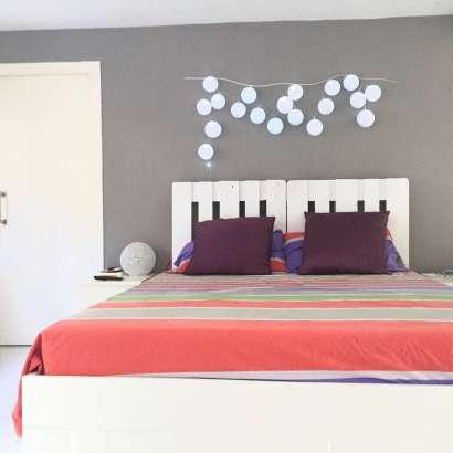 DIY - Haz tú mismo este cabecero de cama con palets.