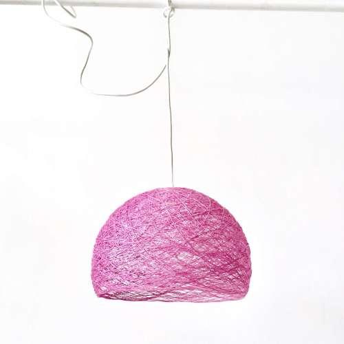 Lámpara de techo artesanal HALF SPHERE, de diseño nórdico