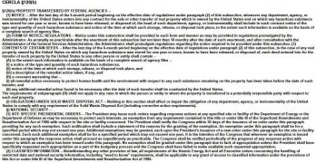 George AFB's CERCLA §120(h) Deed Restrictions