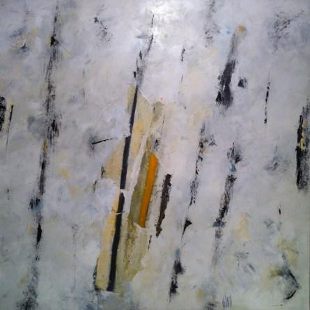 huile/toile et papier affiche 80x80