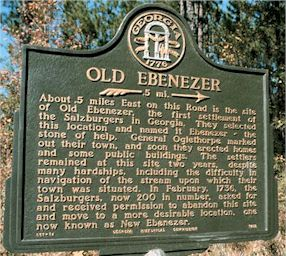 Ebenezer, Effingham County, Georgia