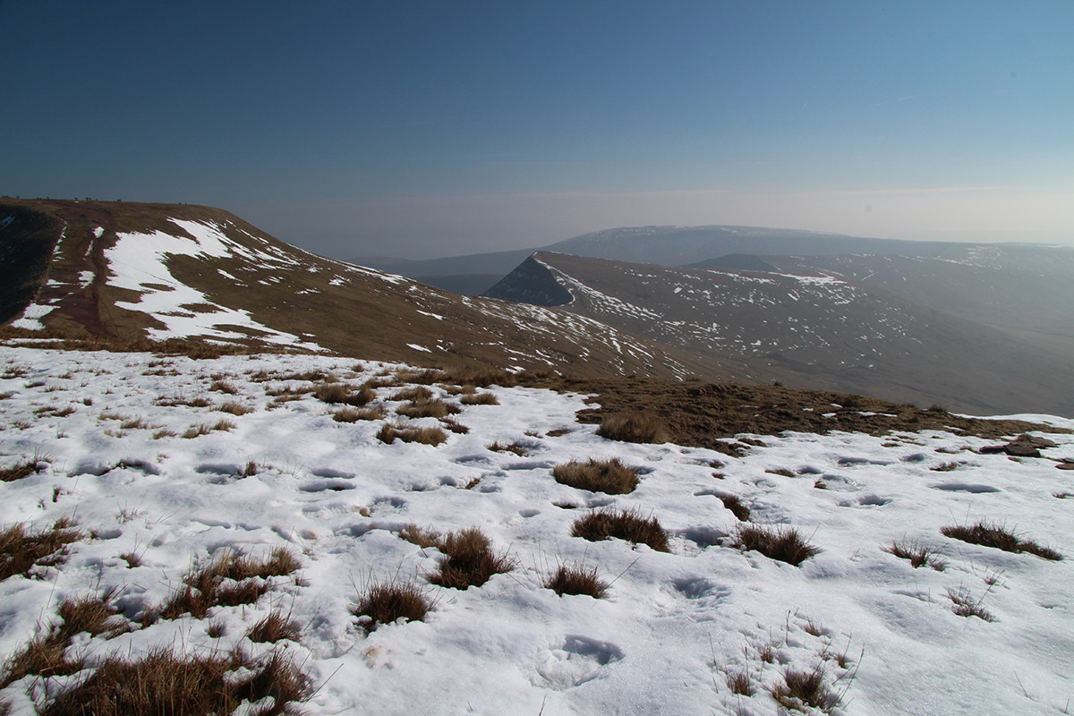 Pen Y Fan scree