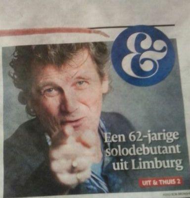 Een 62-jarige solodebutant uit Limburg