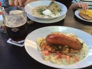 Weltenburg lunch